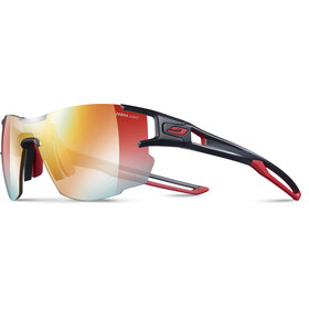 Julbo Aerolite Zebra Light Occhiali da sole Donna, black/red/multilayer red